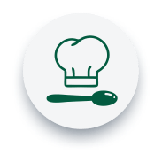 Ícone alimentícios