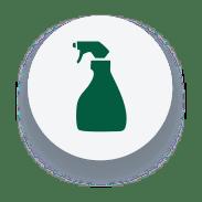 Ícone limpeza