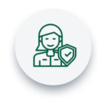 Ícone seguro de vida